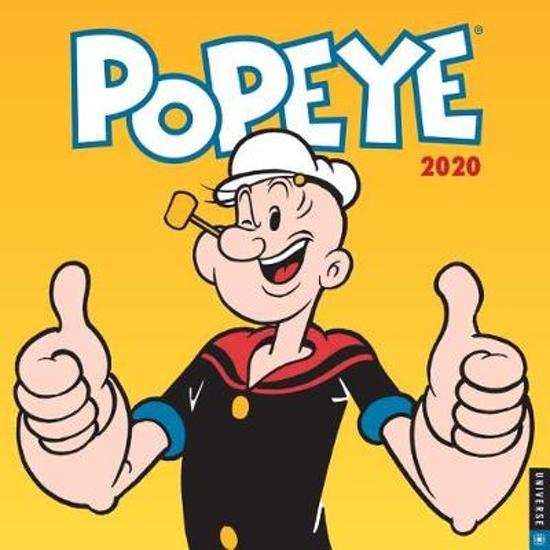 Popeye 2020 Square Wall Calendar