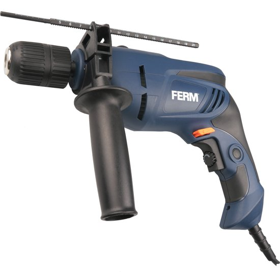 FERM Klopboormachine 800W - 13mm - Variabele snelheid - Softgrip
