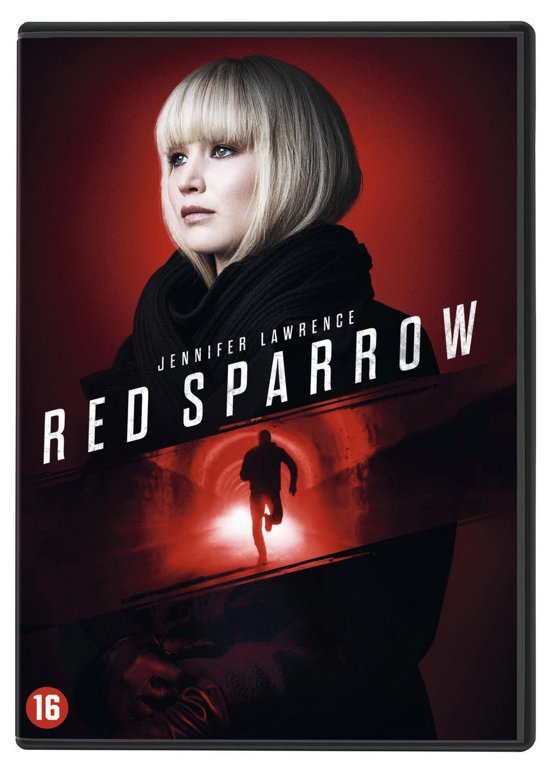 DVD cover van Red Sparrow