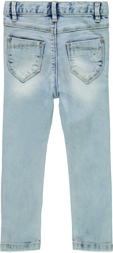 Name it Meisjes Polly Skinny Jeans Medium Blue Denim Maat 80