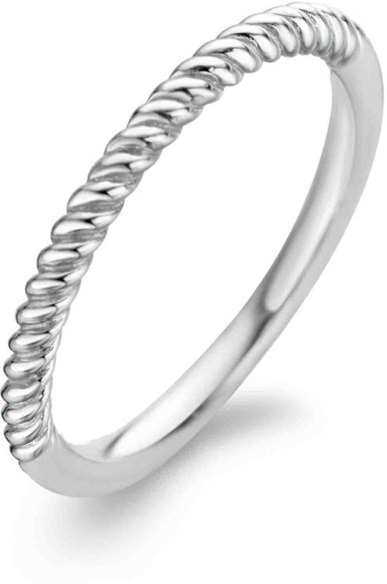 TI SENTO Milano Ring 1936SI - Maat 60 (19 mm) - Gerhodineerd Sterling Zilver