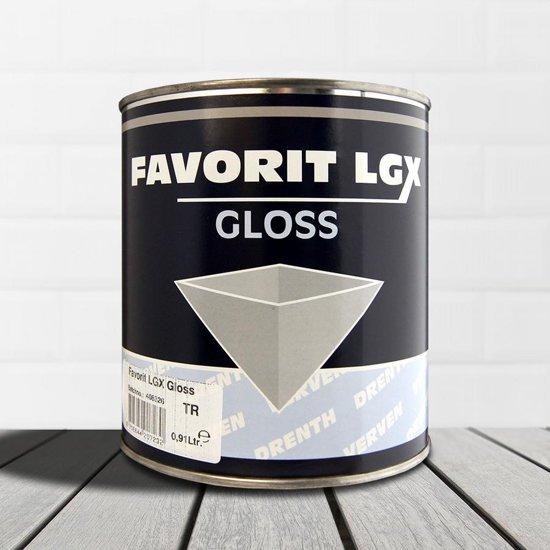 Drenth-Favorit LGX-Gloss-Ral 9016 Verkeerswit-2,5 liter
