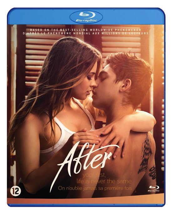 DVD cover van After (Blu-Ray)