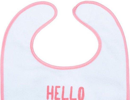 Jollein Flamingo Slab waterproof klittenband (2pack)