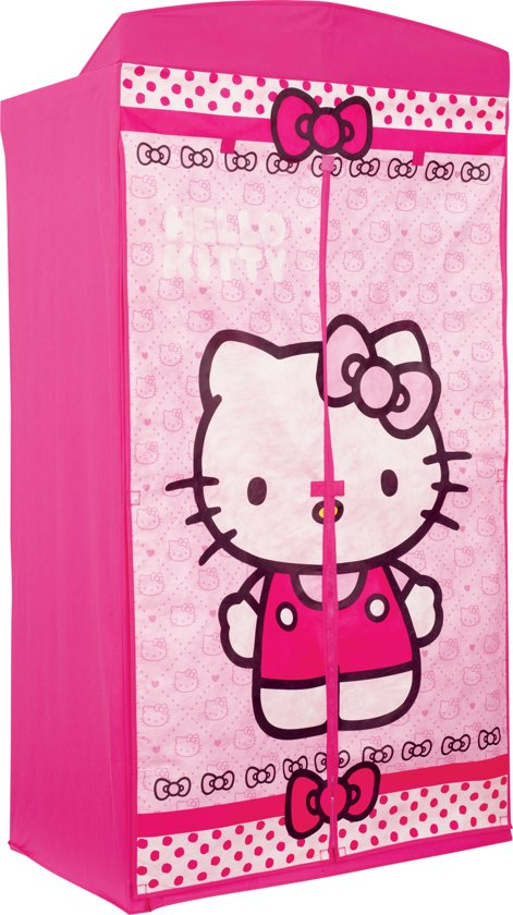 Hello Kitty Opbergkast.Bol Com Hello Kitty Kledingkast Roze