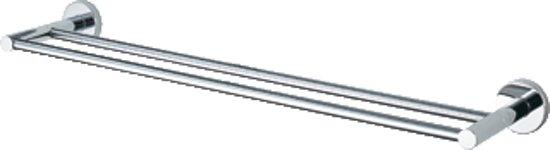Haceka Kosmos Chroom Dubbele Handdoekhouder - 80 cm