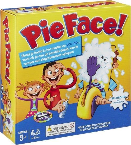 Afbeelding van het spel Slagroom Snoet Gezelschapsspel Pie Face