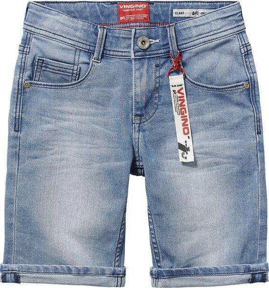 2a06da02f3d51d bol.com | Vingino Jongens Jeans short - Light Indigo - Maat 176