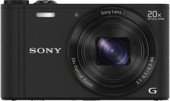 Sony Cybershot DSC-WX300 - Zwart