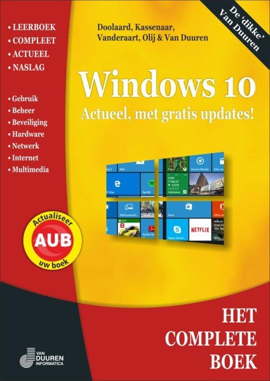 Het complete boek - Het Complete Boek Windows 10