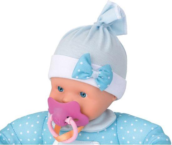 Pop Nenuco soft met geluid blauw 30 cm