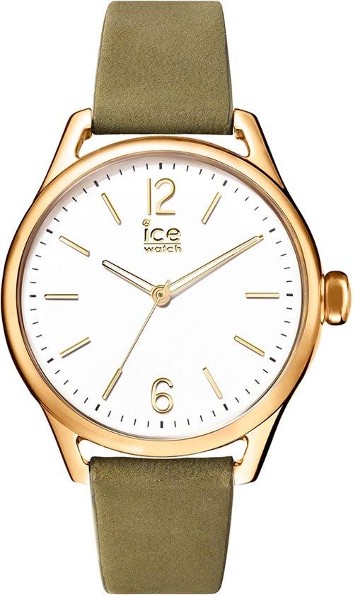 Ice-Watch IW013071 Horloge - Leer - Groen - 32 mm