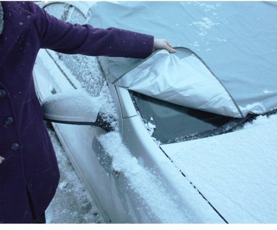 Magnetisch autoscherm tegen ijs, sneeuw en zon - set van 2 stuks
