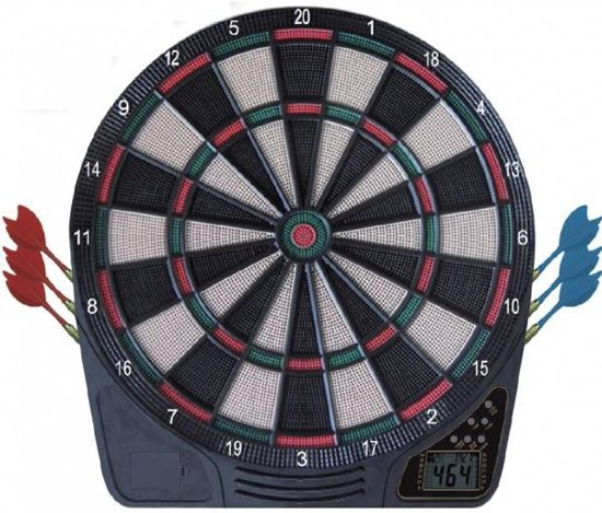 Bolcom Wildcard Softtip Electronic Dartboard Inclusief 2 Sets