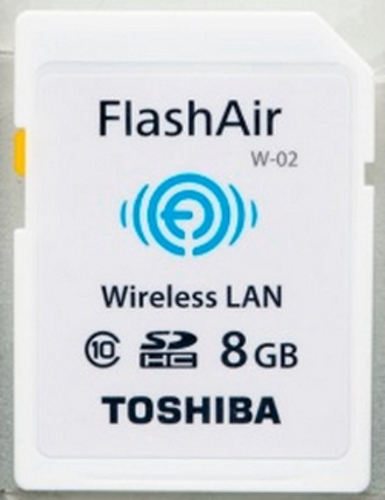 Toshiba 8GB FlashAir 8GB SD Class 10 flashgeheugen