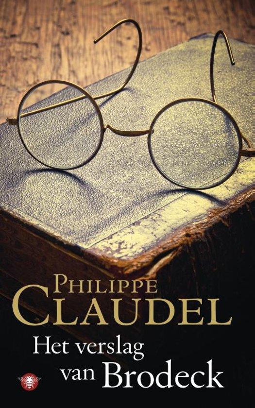 Boek cover Het verslag van Brodeck van Philippe Claudel (Paperback)