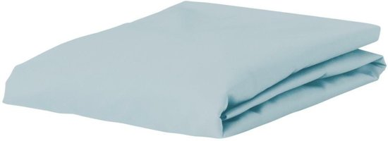Essenza Premium - Percale katoen - Hoeslaken - Extra Hoog - Lits-jumeaux - 180x200 cm - Blue