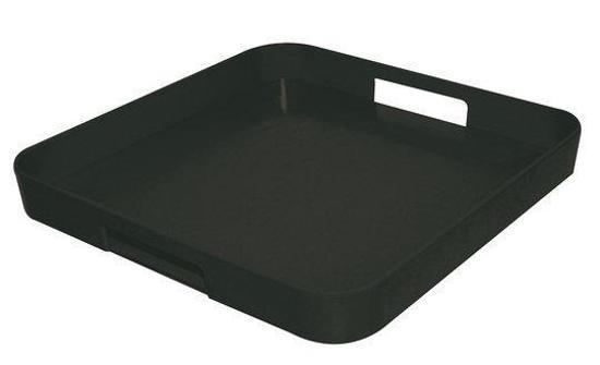 ZAK!Designs Dienbladen Dienblad zwart, 33 x 33 cm