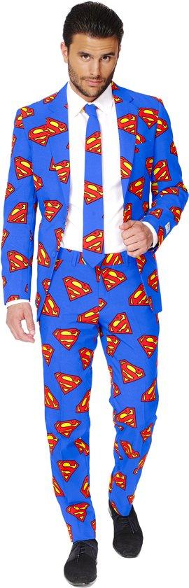 OppoSuits Superman - Kostuum - Maat 46