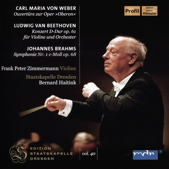 Beethoven: Vioolconcert In D & Weber: Oberon-Ouver