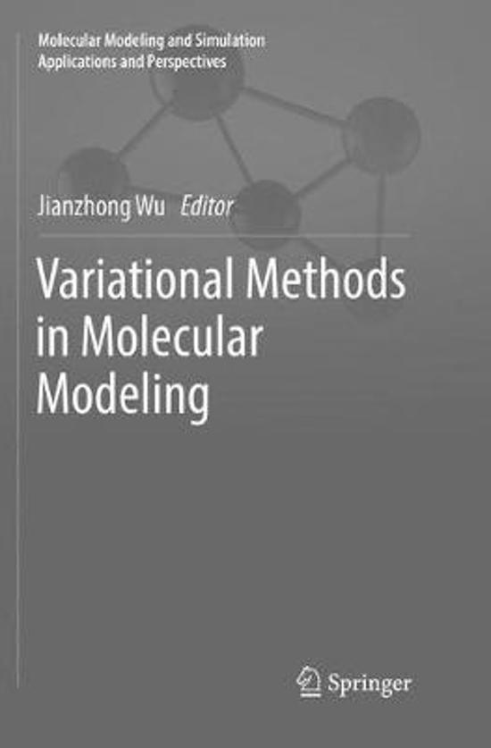 Variational Methods in Molecular Modeling