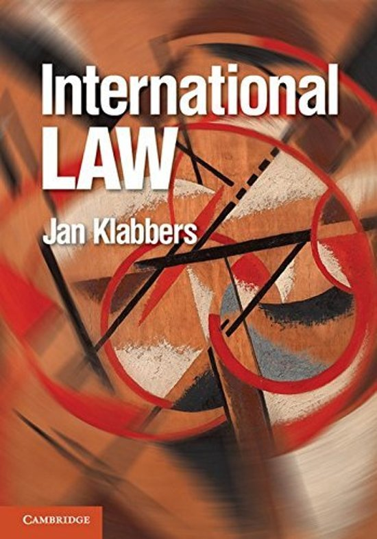 International Law - Jan Klabbers