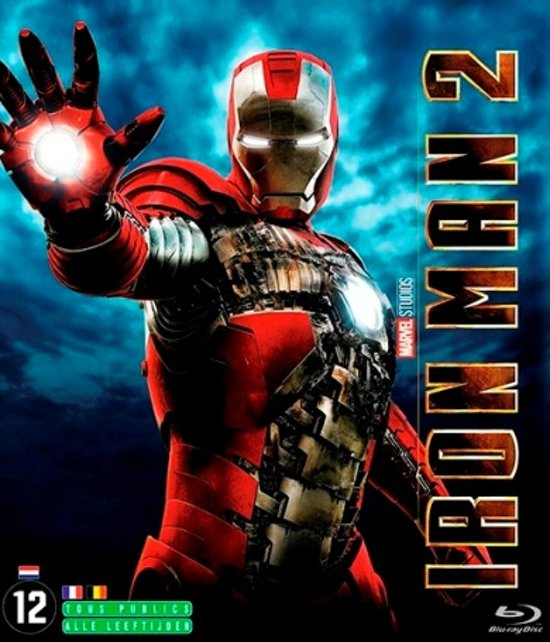 DVD cover van Iron Man 2 (Blu-ray)