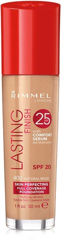 Rimmel London Lasting Finish Foundation - 400 Naturel Beige
