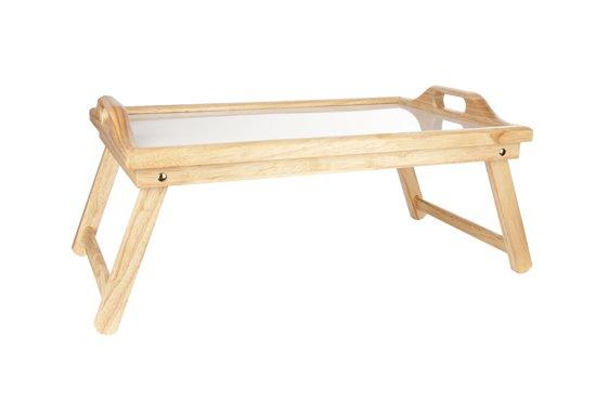 Cosy & Trendy Bedplateau - Rubberwood - Rechthoekig - 61 cm x 33 cm x 23.5 cm