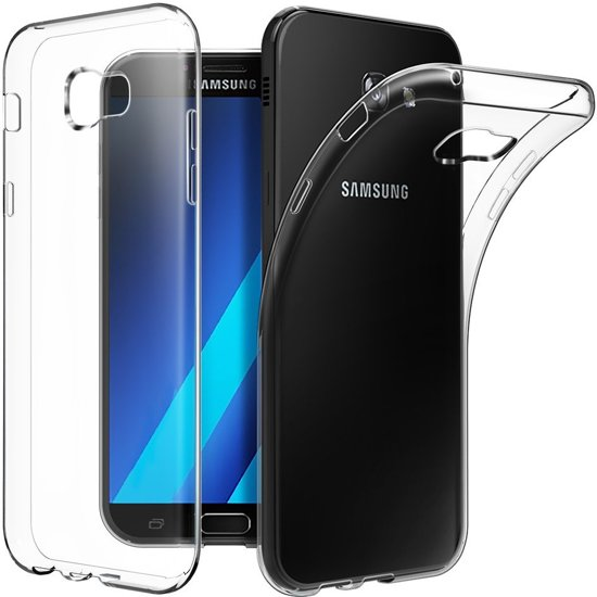 Samsung Galaxy A3 2017 siliconen hoesje transparant - zachte hoesje - soft case