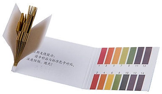 Lakmoes Papier test strips PH 1-14  (80strips)