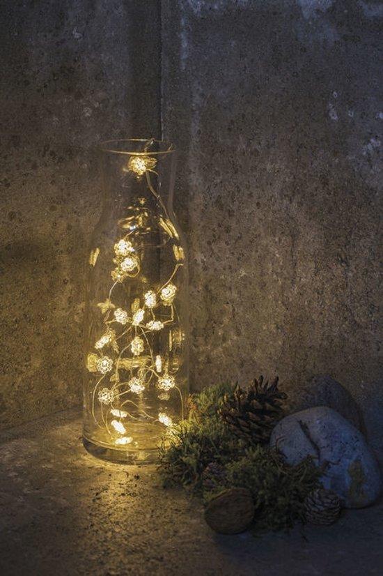 Sirius Home Nynne Geschikt voor gebruik binnen 20lampen LED Zilver, Transparant