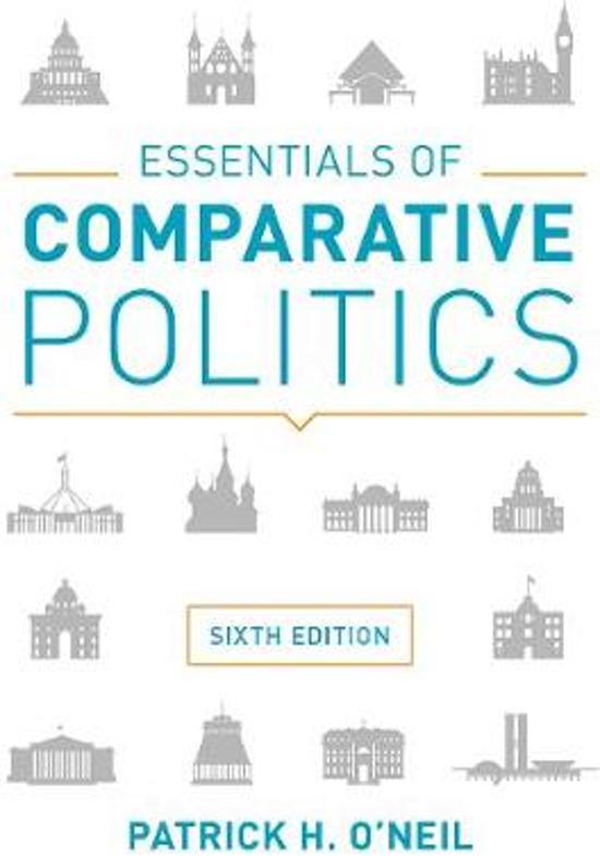 Boek cover Essentials of Comparative Politics van Patrick H. ONeil (Paperback)