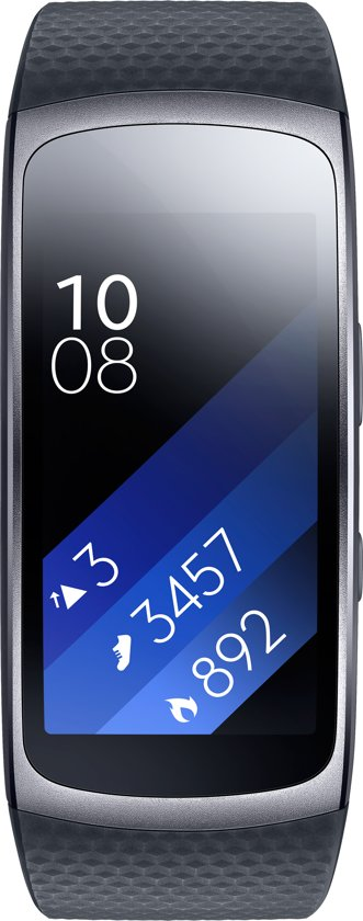 Samsung Gear Fit 2 - Activity tracker Grijs - Large