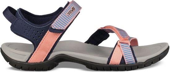 pretty nice 8fd07 dbae6 Teva Sandalen - Maat 37 - Vrouwen - blauw/oranje/navy