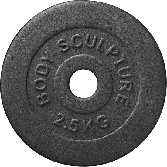 Body Sculpture - Halterschijven - 2 x 2,5kg - Ø 25 mm