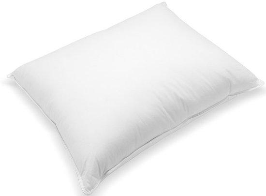 Kussen Voor Rugslaper : Bol droom hoofdkussen eendendons comfort zij en