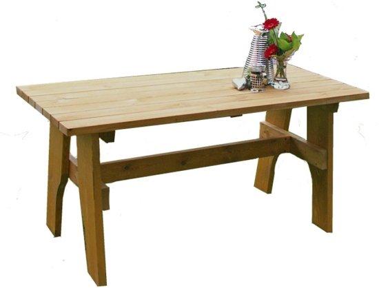 Grenenhouten Side Table.Bol Com Grenenhouten Tuintafel 120 Cm