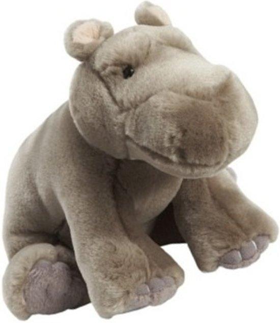 Pluche nijlpaard knuffelbeestje van 18 cm