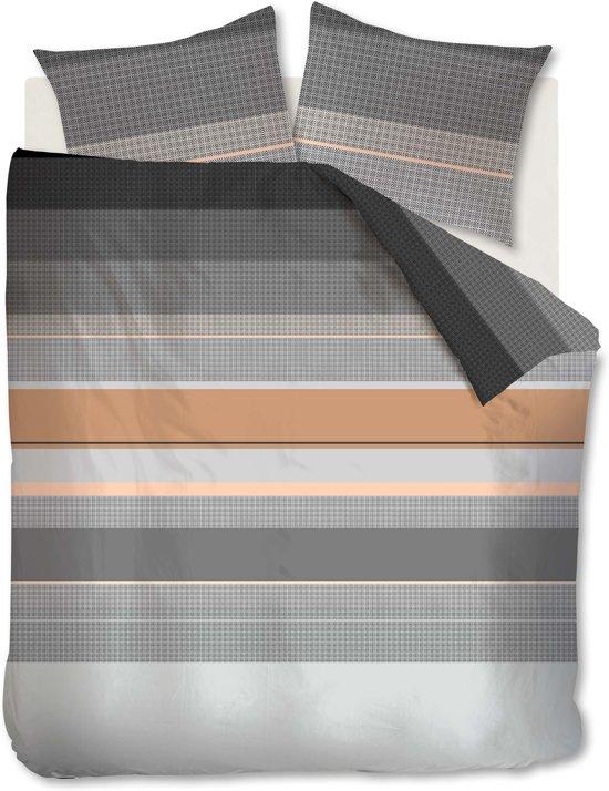 Beddinghouse Kata - Dekbedovertrek - Eenpersoons - 140x200/220 cm - Zwart