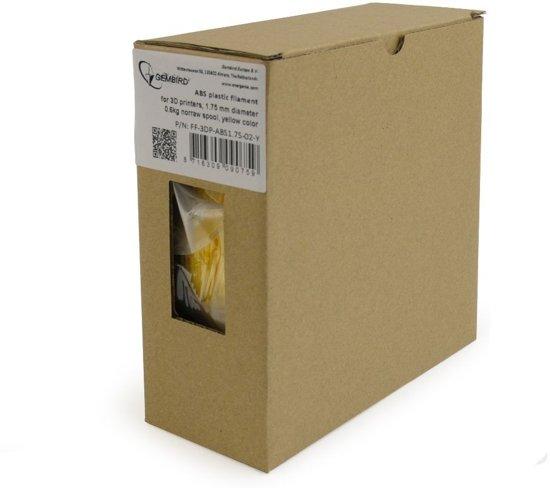 Gembird3 FF-3DP-ABS1.75-02-Y - Filament (600 g) ABS, 1.75 mm, geel
