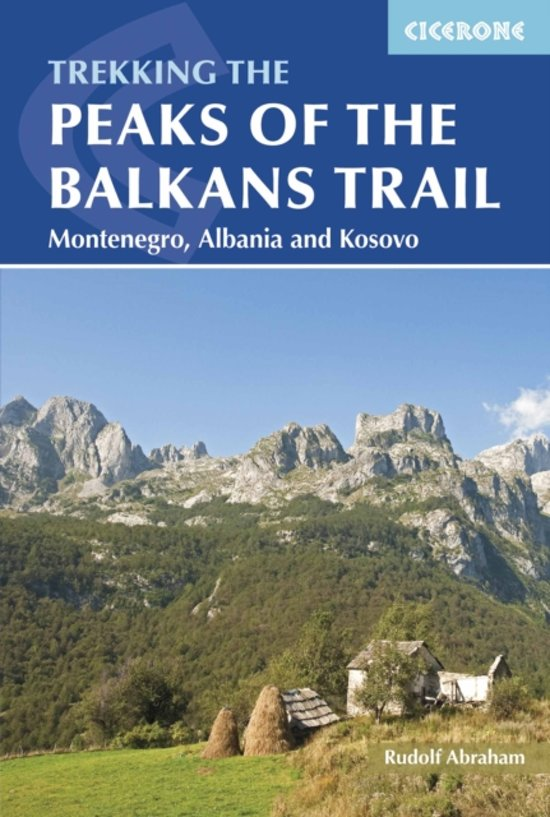 Wandelgids: The Peaks of the Balkans Trail cover