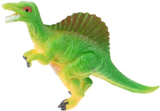 Toi-toys Miniatuur Dinosaurus 6 Cm  Rugkam Groen
