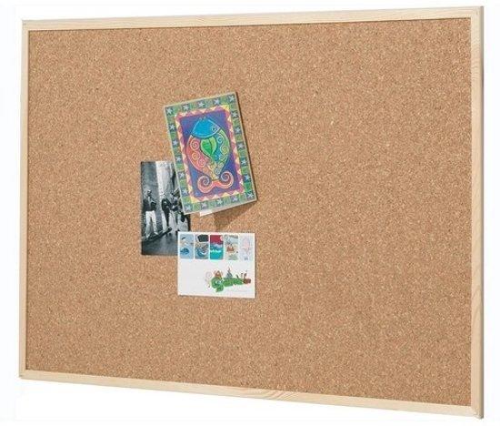 Spiksplinternieuw bol.com | Kurk24 Kurk prikbord - houten lijst - 120 x 90 cm HD-57