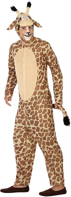 Verkleedkleding voor volwassenen - Giraffe - Maat XL