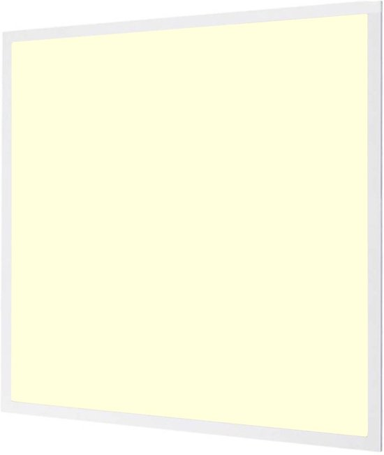 LED Paneel - Aigi - 60x60 Warm Wit 3000K - 40W Inbouw Vierkant - Mat Wit - Flikkervrij - BES LED