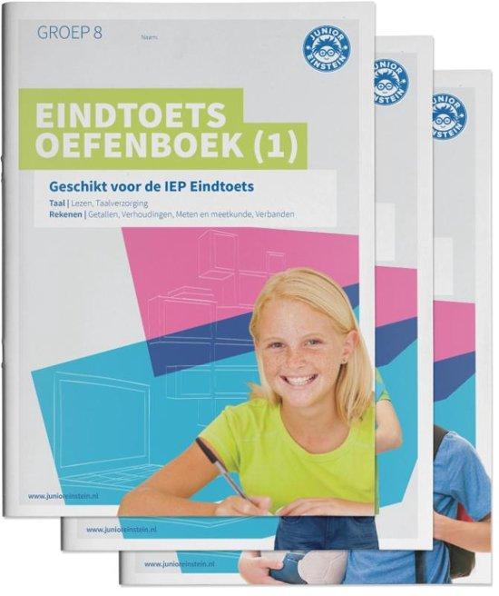 Eindtoets Oefenboeken Compleet Compleet pakket delen 1 2 en 3 Gemengde opgaven Groep 8 Opgaven voor Rekenen en Taal