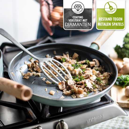 Greenpan Mayflower Pannenset 2-delig met Spatel