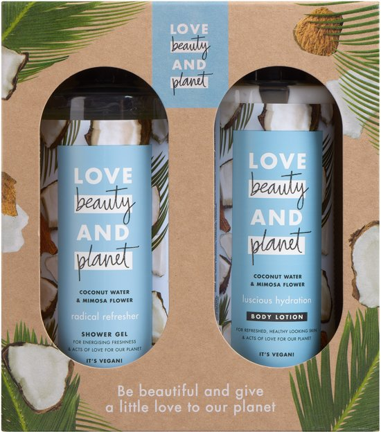 Love Beauty and Planet Coconut Water & Mimosa Flower - Geschenkset