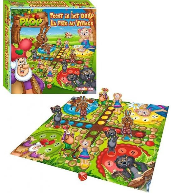 Plop en de Peppers : spel - Feest in het dorp